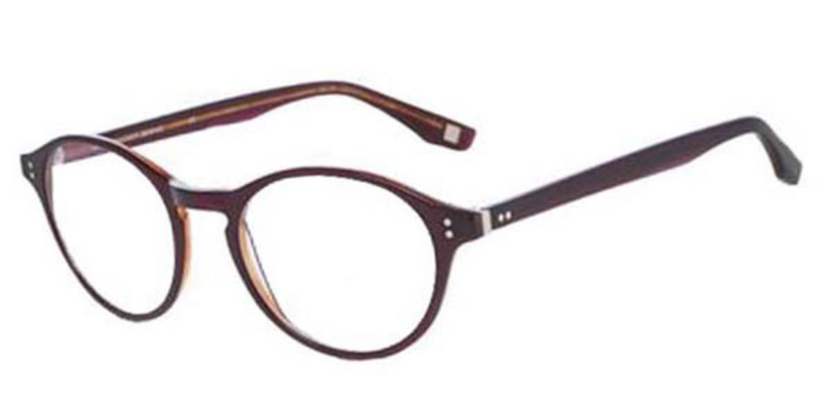 Hackett HEB139 002 Men's Glasses Burgundy Size 50 - Free Lenses - HSA/FSA Insurance - Blue Light Block Available