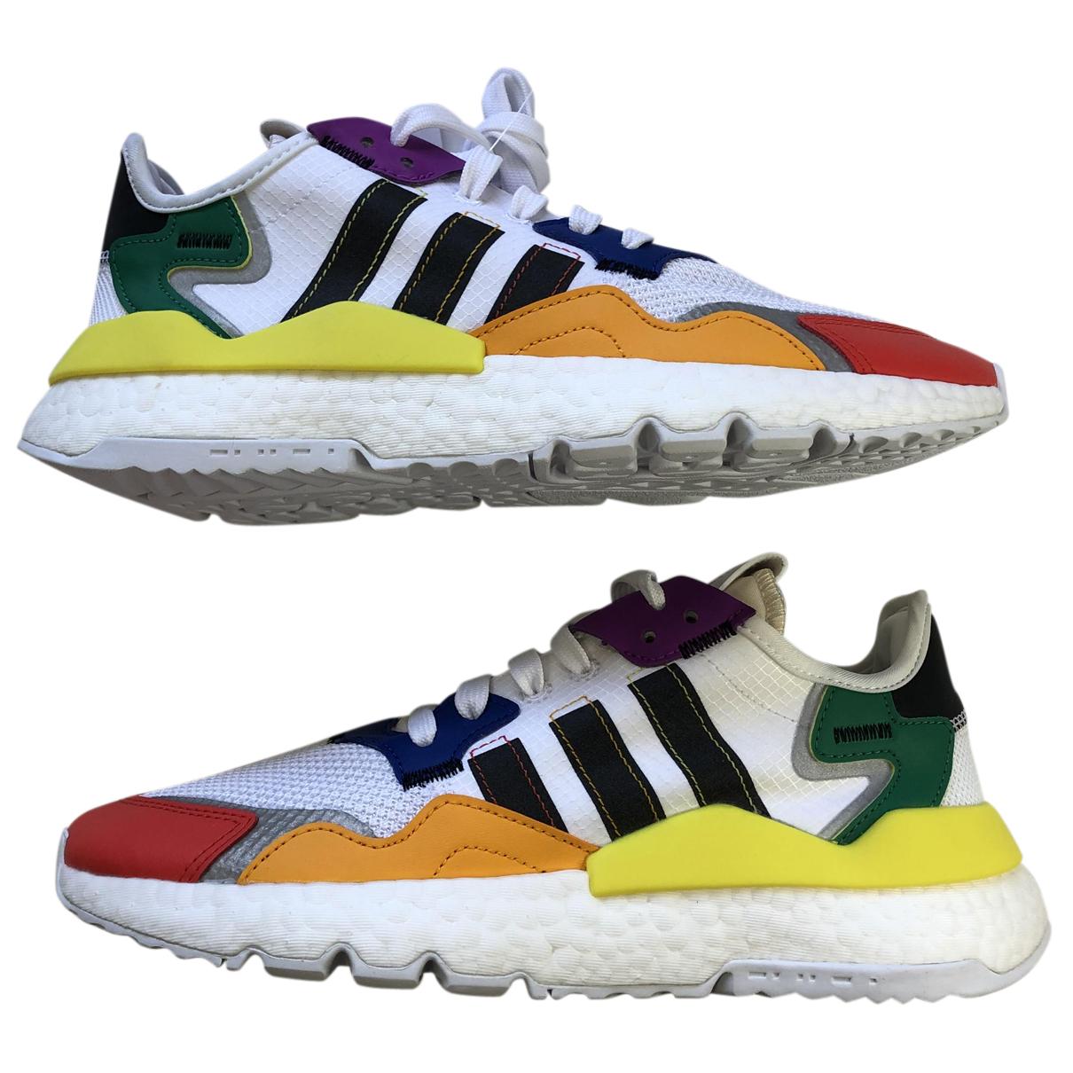 Adidas \N Sneakers in  Bunt Leinen