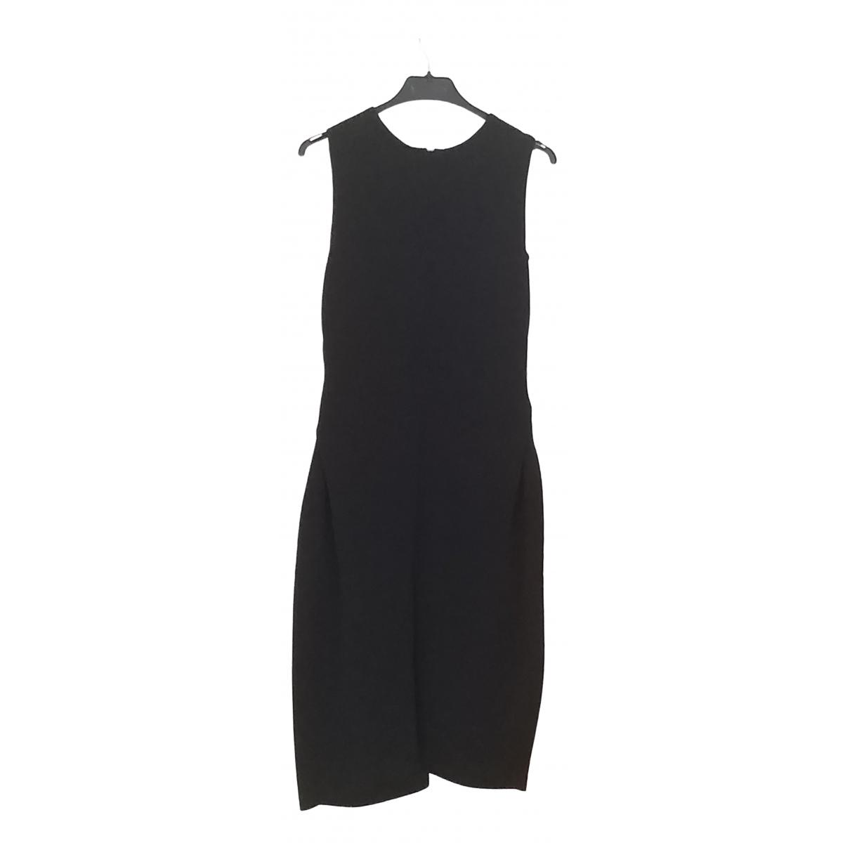 Alessandro Dell'acqua \N Black Silk dress for Women 44 IT