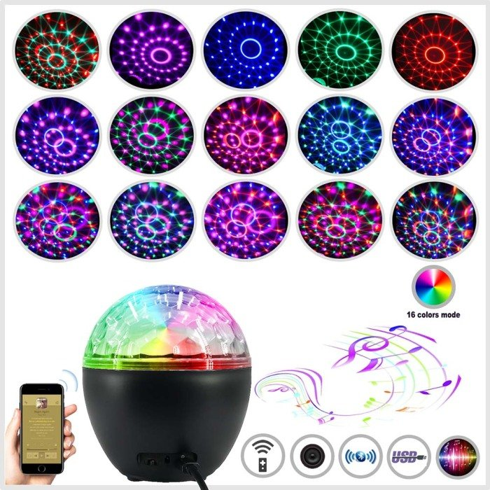Holiday Light 16 Colors Music Shake It Off Christmas Projection Lights For The Party