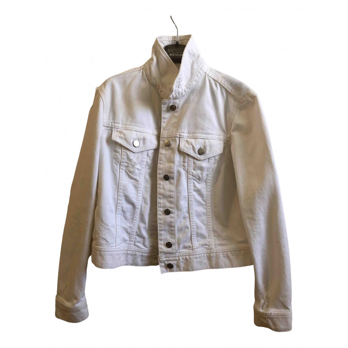 Vicolo \N White Denim - Jeans jacket for Women S International