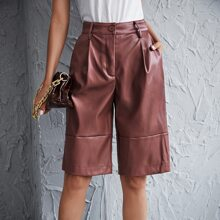 Shorts Liso Casual