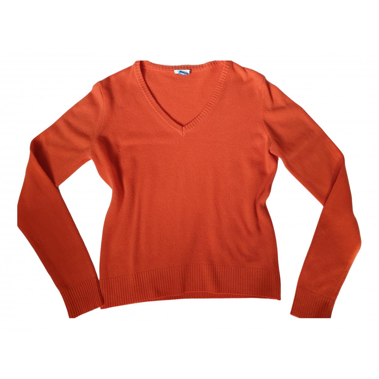 Marella - Pull   pour femme en laine - orange