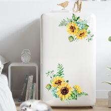 Sunflower Print Wall Sticker