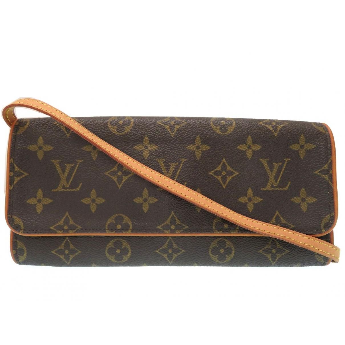 Louis Vuitton Twin Brown Cloth handbag for Women \N