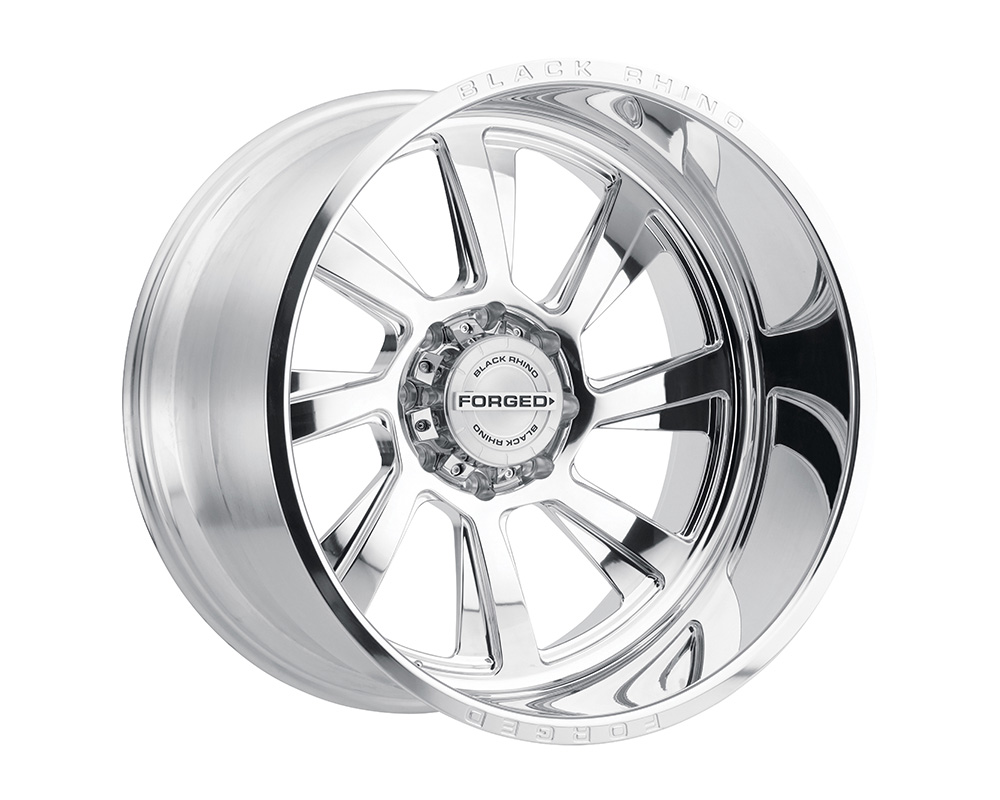 Black Rhino Blaster Wheel 22x14 6x139.7 -76mm Polished Left