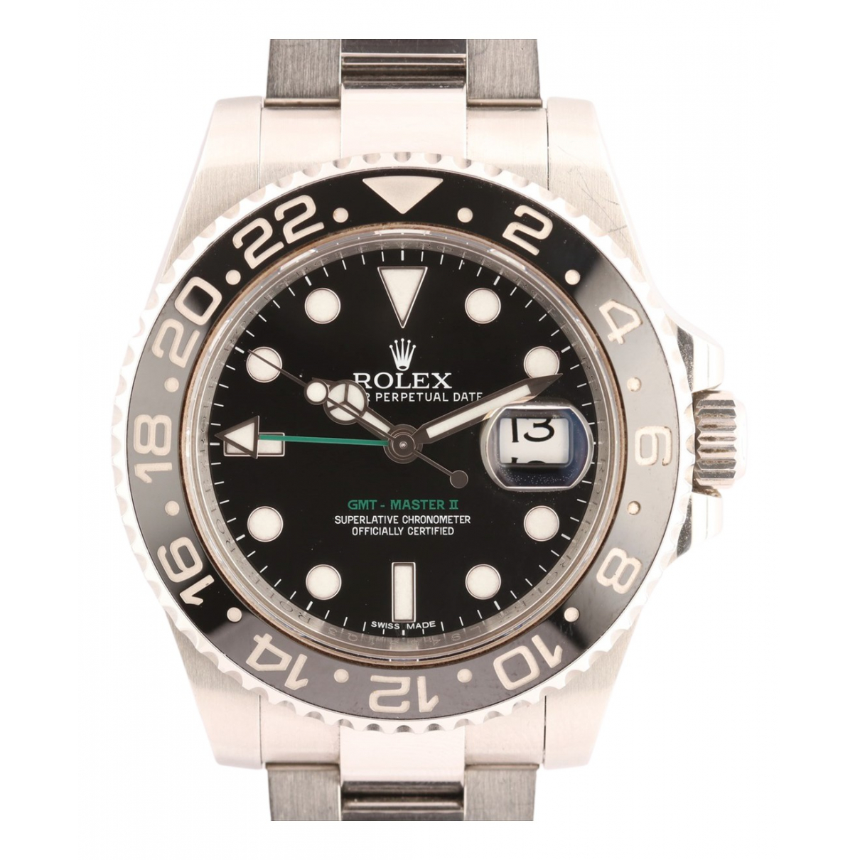 Rolex N Silver watch for Men N