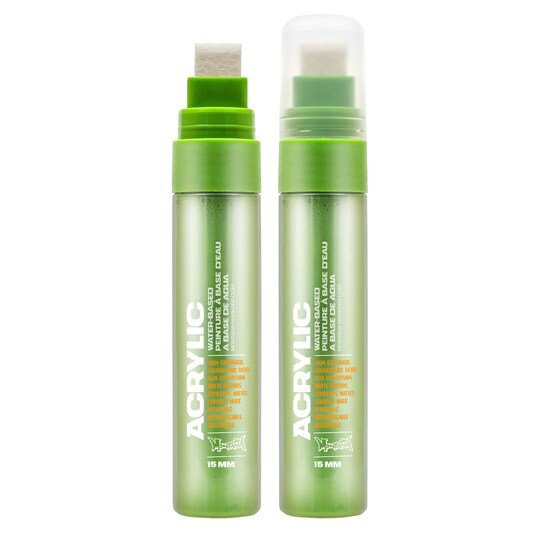 Montana Acrylic Paint Marker, Standard in Shock Green Light | Michaels®