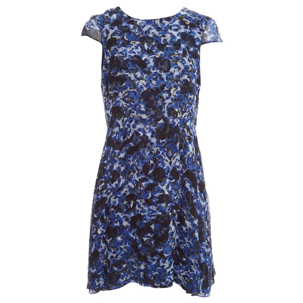 Erdem \N Kleid in  Blau Seide