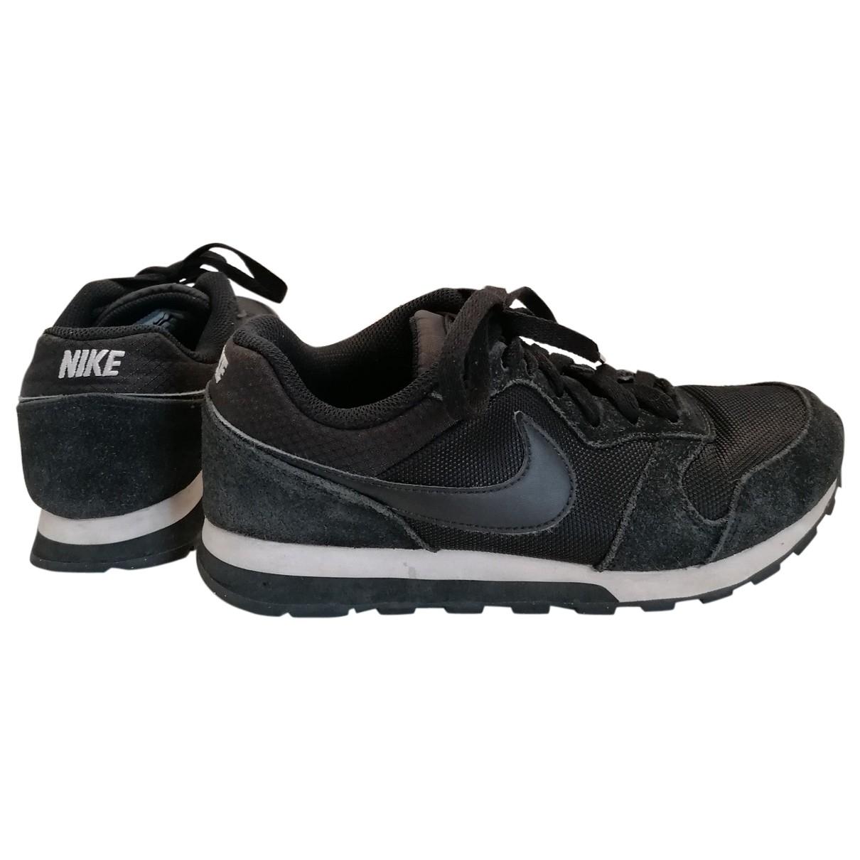 Nike \N Black Trainers for Women 37.5 EU