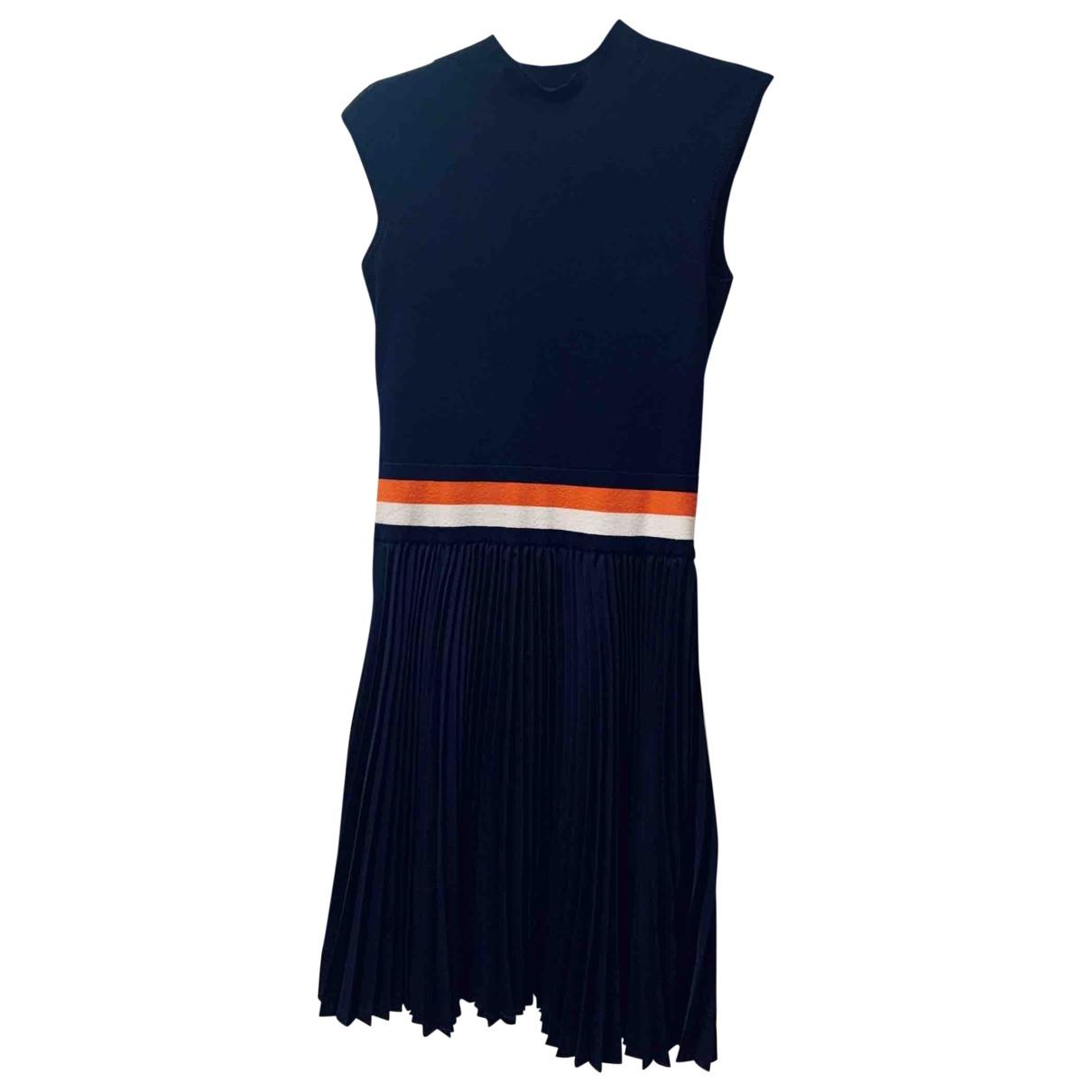 Karen Millen \N Kleid in  Marine Viskose