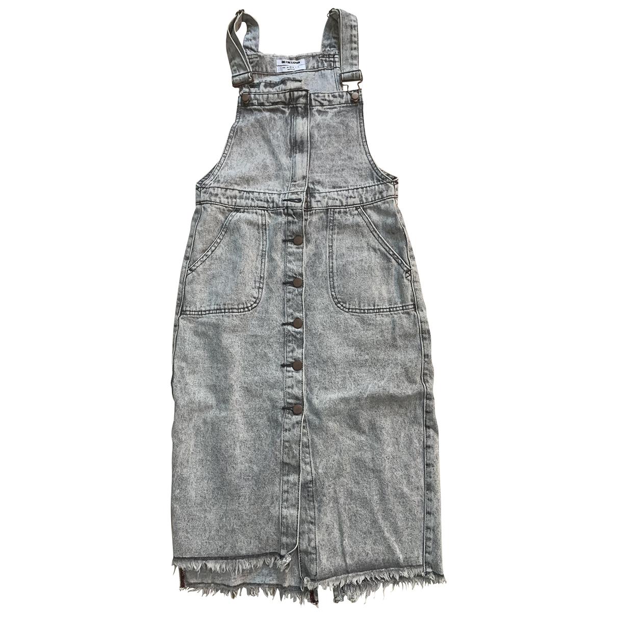 One Teaspoon \N Grey Cotton dress for Women S International