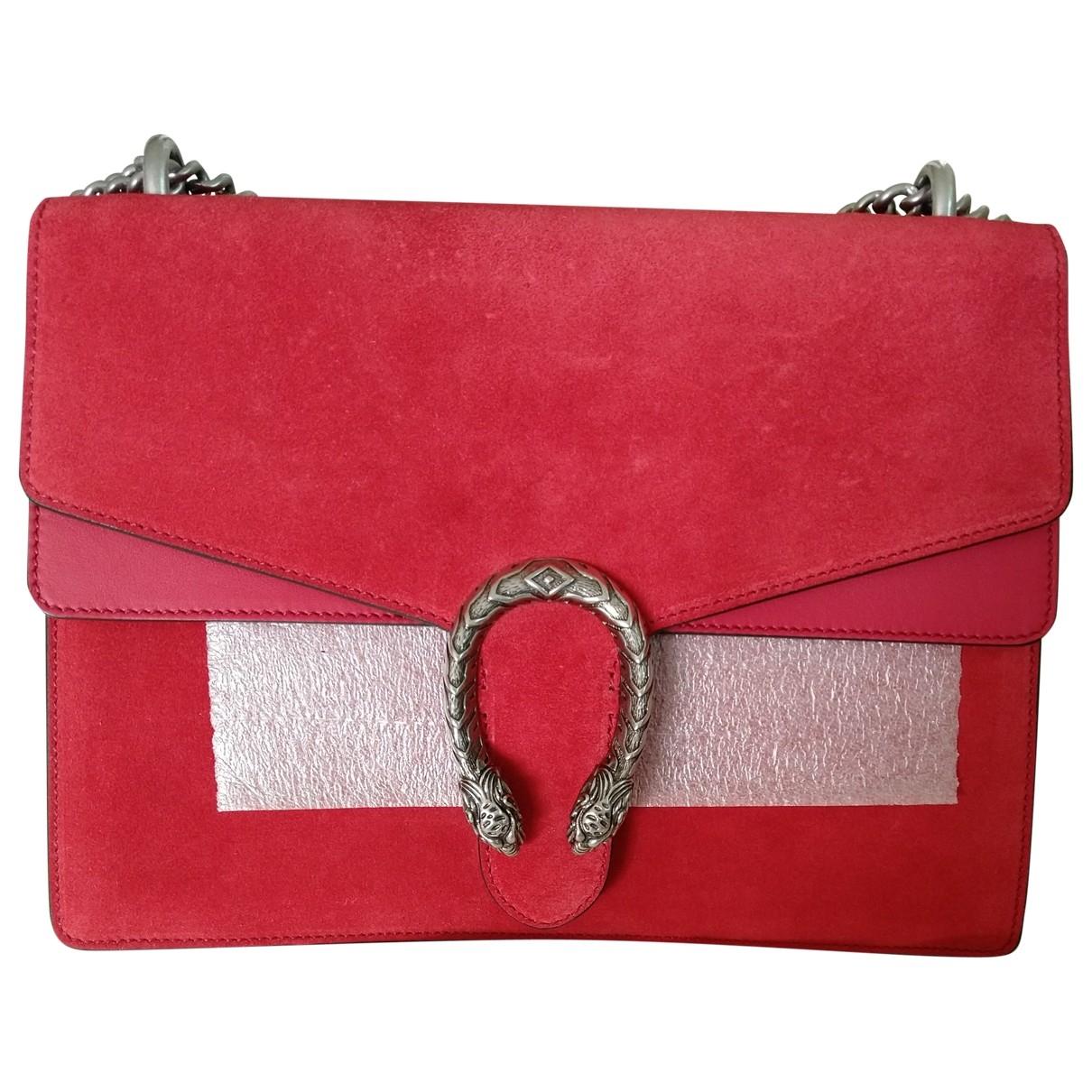 Gucci Dionysus Red Suede handbag for Women \N
