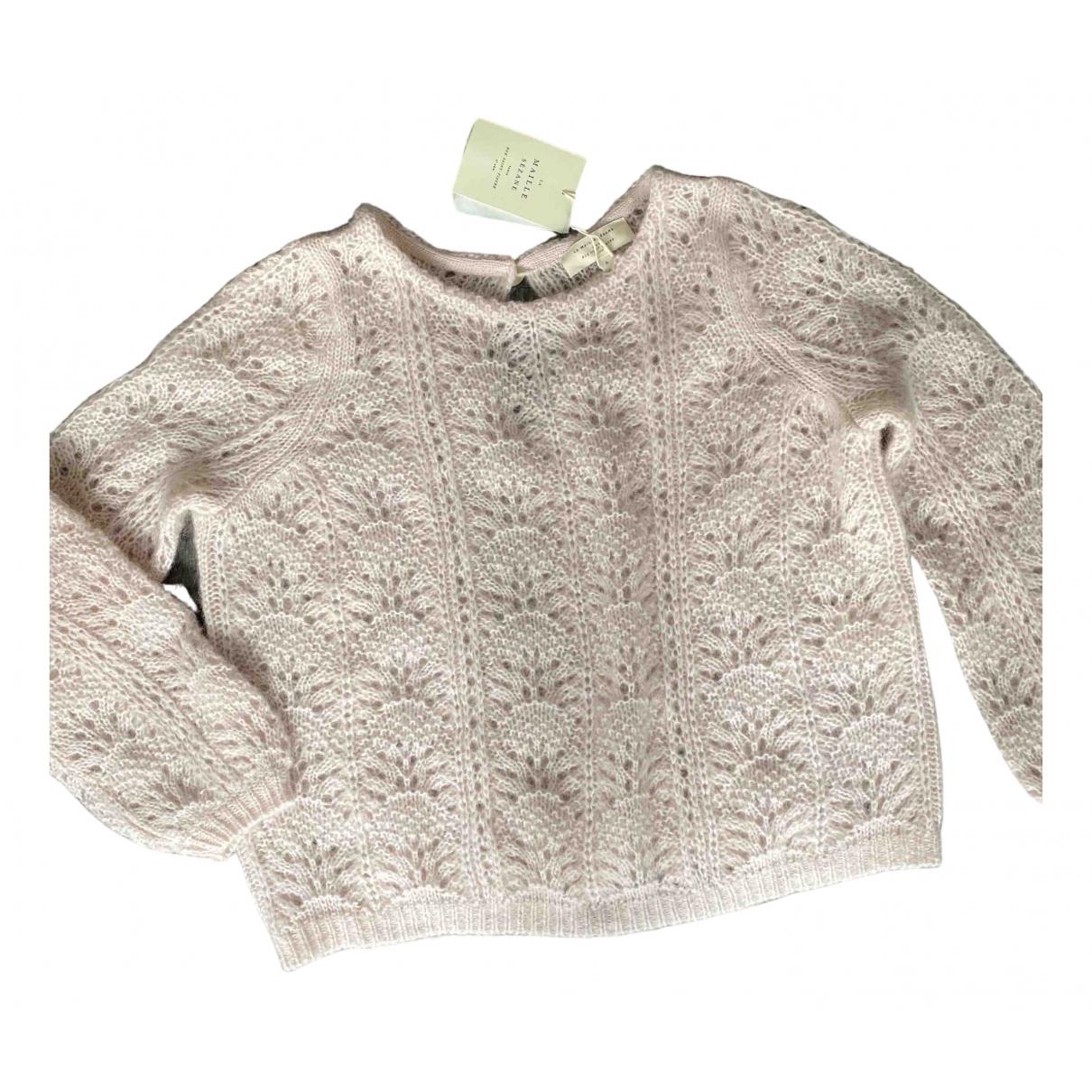 Sézane Spring Summer 2020 Pink Knitwear for Women 36 FR