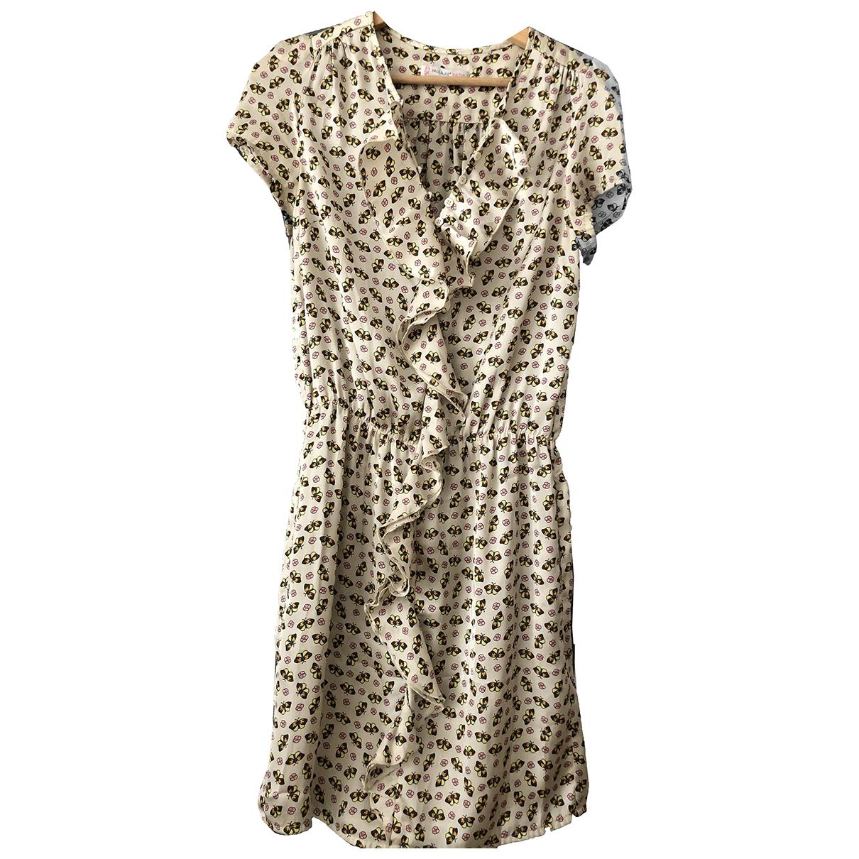 Paul & Joe Sister \N Beige dress for Women 36 FR