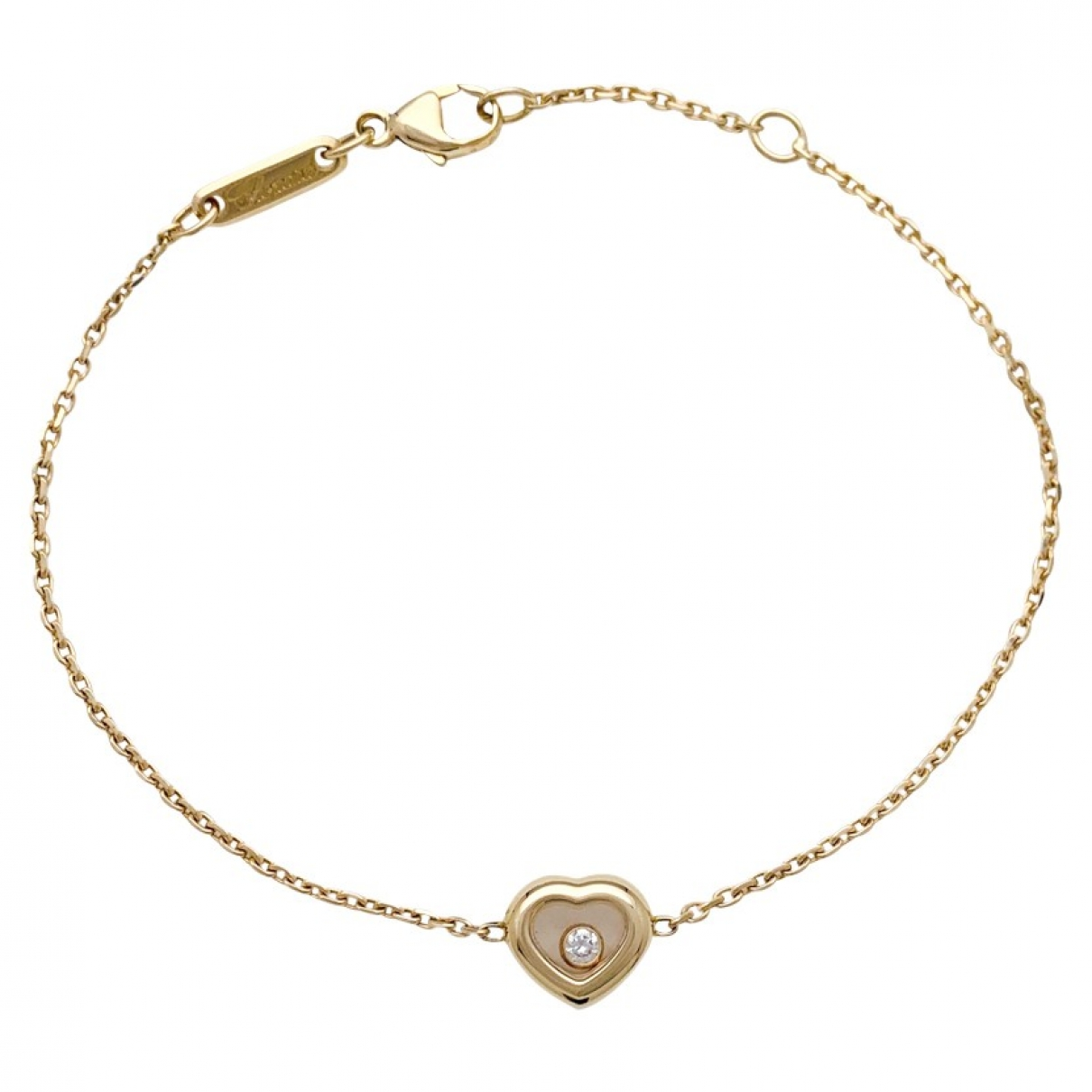 Chopard Happy Diamonds Armband in Gelbgold