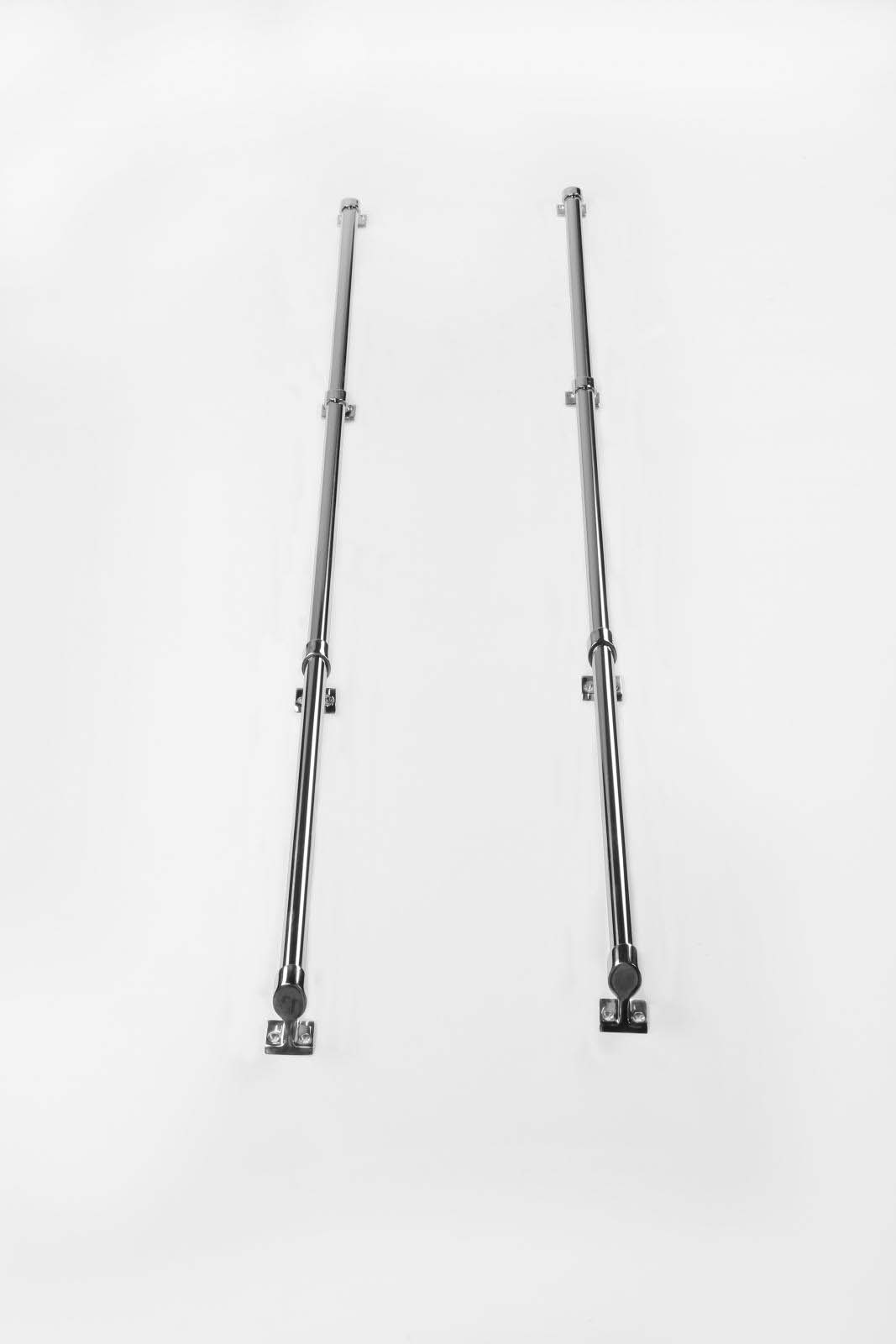 Mini Tube Truck Bed Rail Set 68 Inch Impact Stainless Steel MTR Perrycraft MR-I68-S