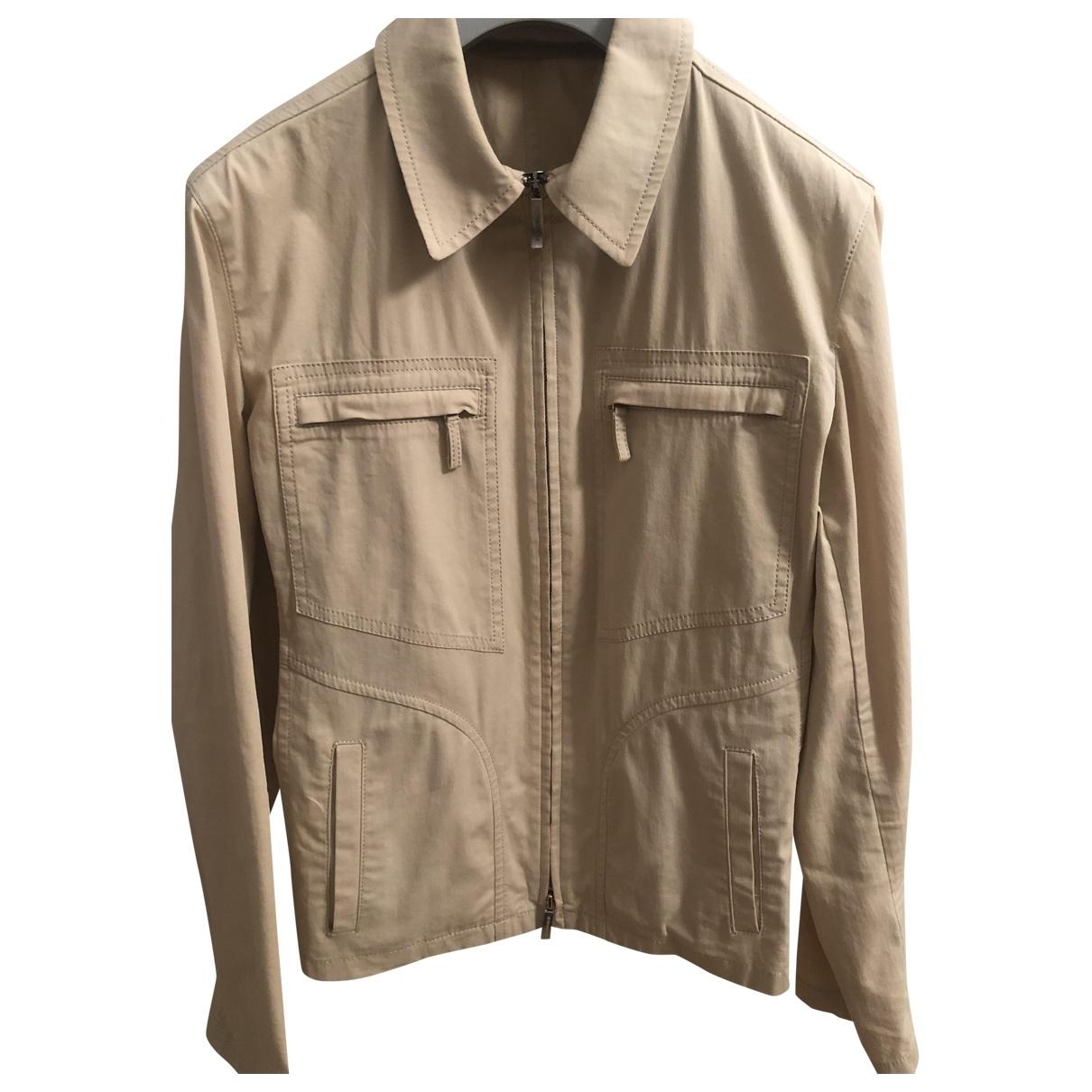 Burberry \N Beige Cotton jacket for Women 40 IT