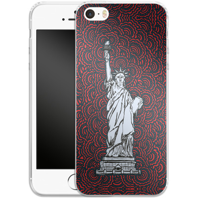 Apple iPhone 5 Silikon Handyhuelle - Liberty von Kaitlyn Parker