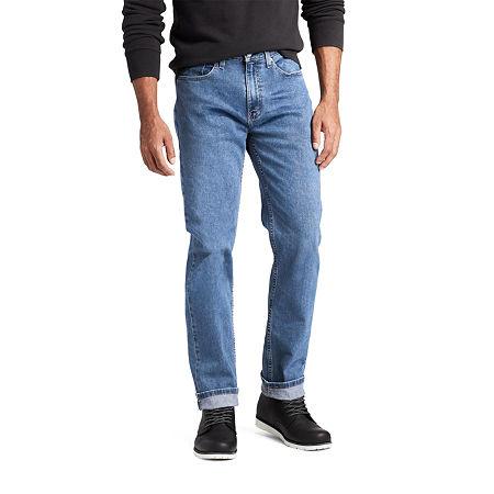 Levi's Flex Eco Performance 514 Mens Straight Fit Jean, 33 30, Blue