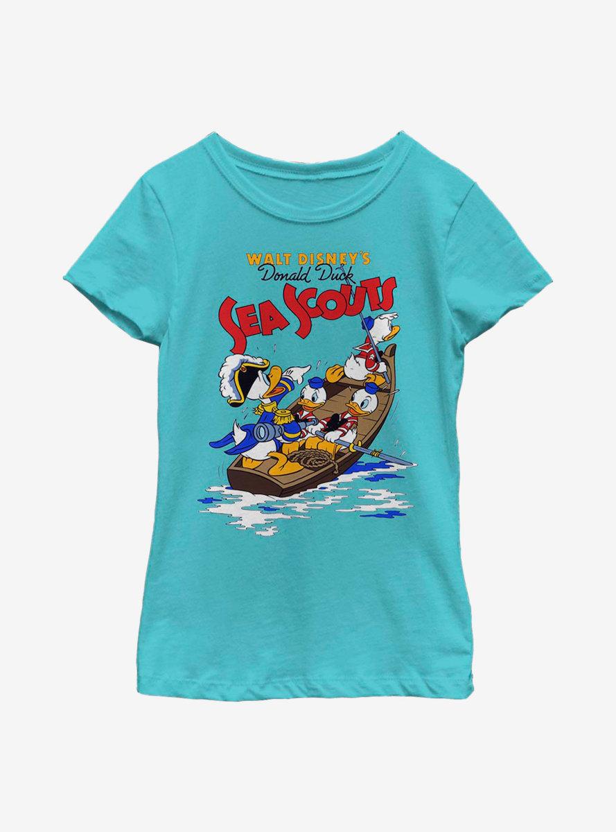 Disney Donald Duck Sea Scout Youth Girls T-Shirt