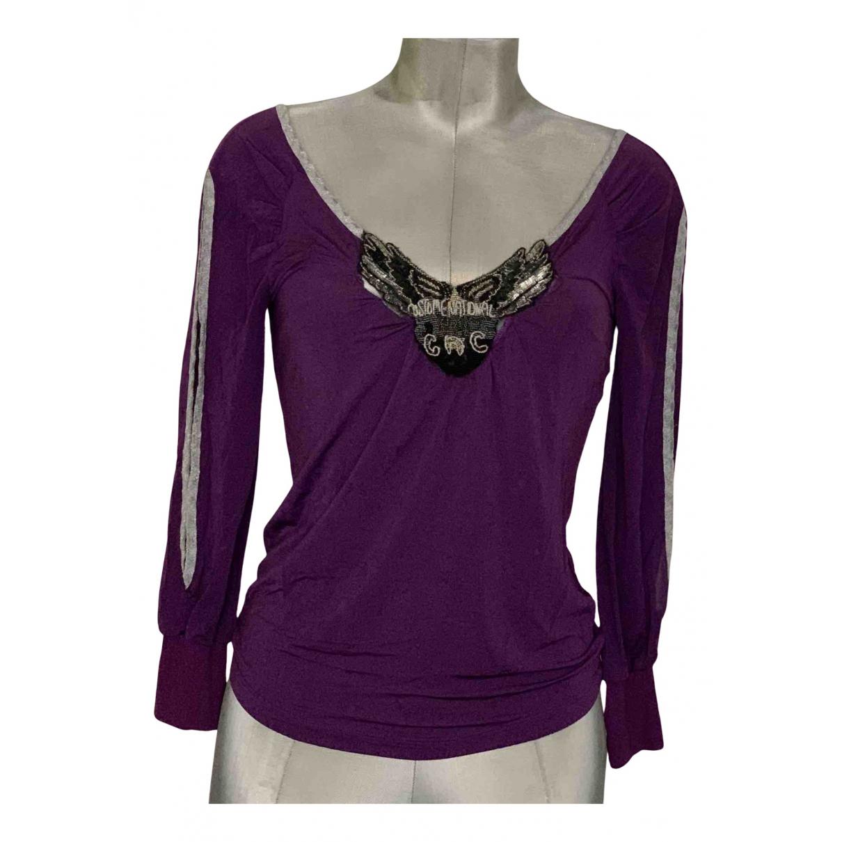 Cnc - Top   pour femme - violet