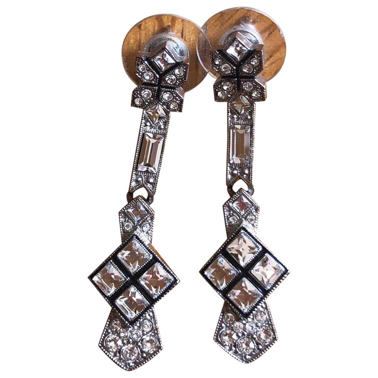 Chanel \N Silver Metal Earrings for Women \N