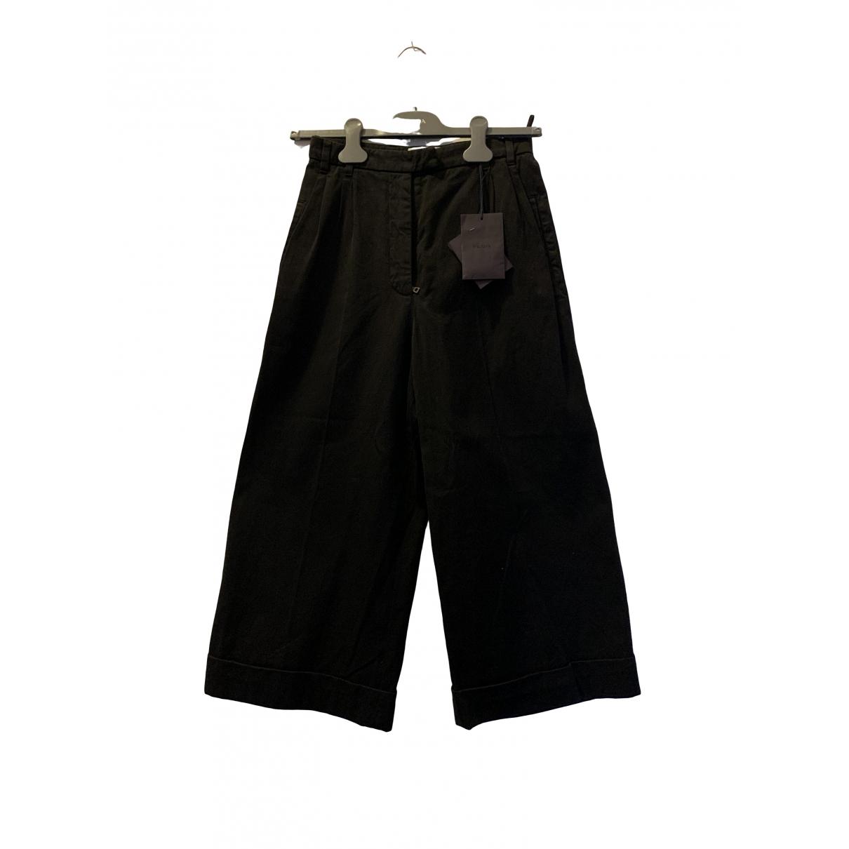 Prada \N Black Cotton Jeans for Women 34 FR