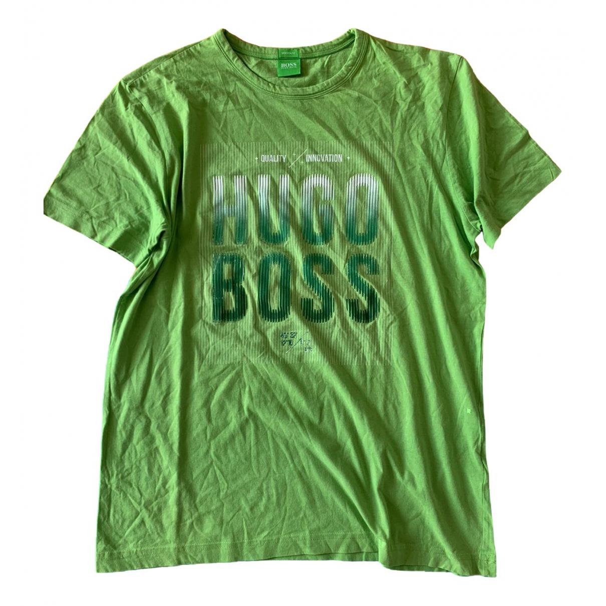 Boss - Top   pour femme en coton - vert