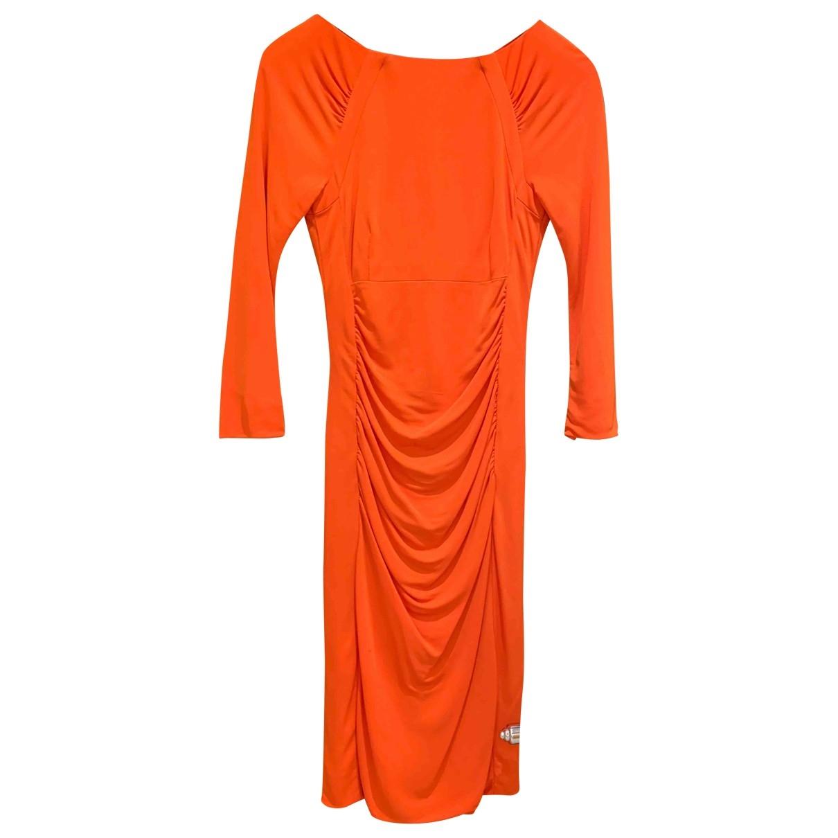 Karen Millen \N Orange dress for Women 8 UK