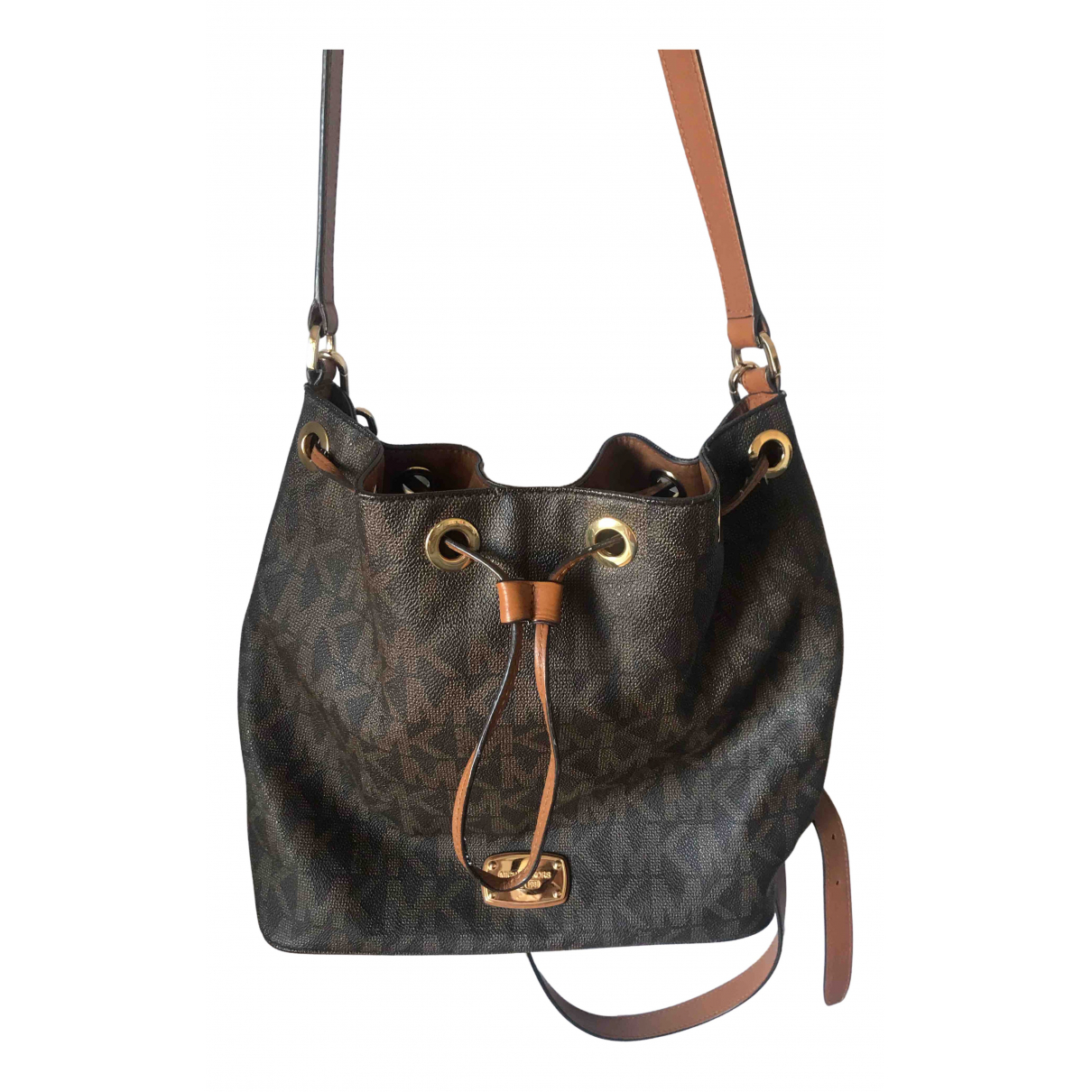 Michael Kors Jules Brown handbag for Women \N