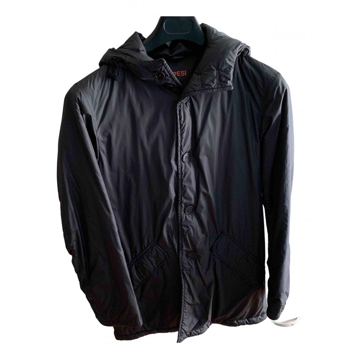 Aspesi - Manteau   pour homme - gris