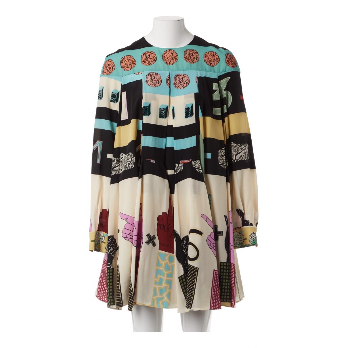 Valentino Garavani N Multicolour Silk dress for Women 44 IT