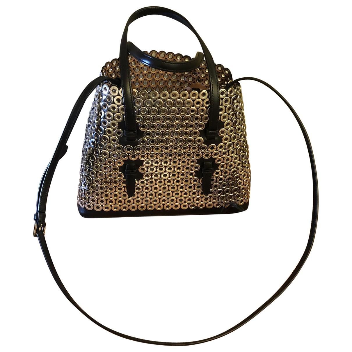 Alaïa \N Black Metal handbag for Women \N