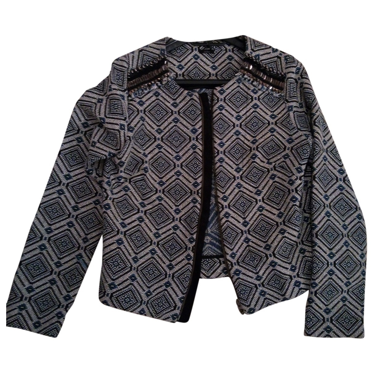 Non Signé / Unsigned \N Blue Cotton jacket for Women S International