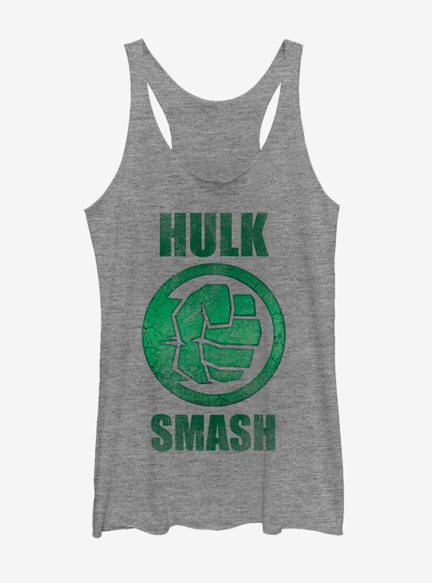 Marvel Hulk Smash Womens Tank Top