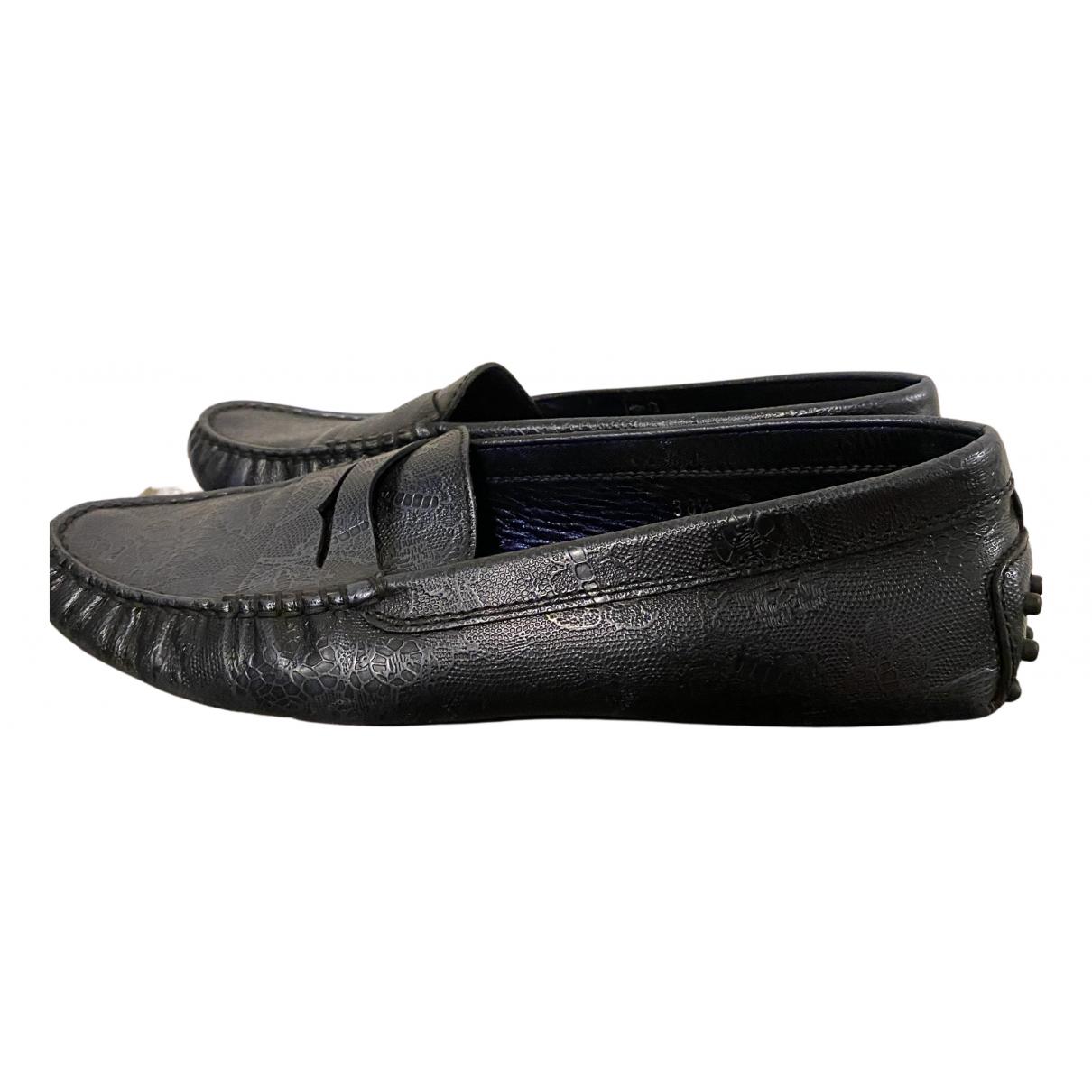 Tod's Gommino Metallic Leather Flats for Women 38.5 EU