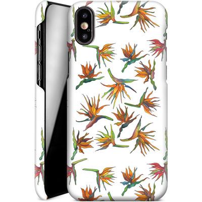Apple iPhone XS Smartphone Huelle - Paradise Flower Pattern von Kaitlyn Parker
