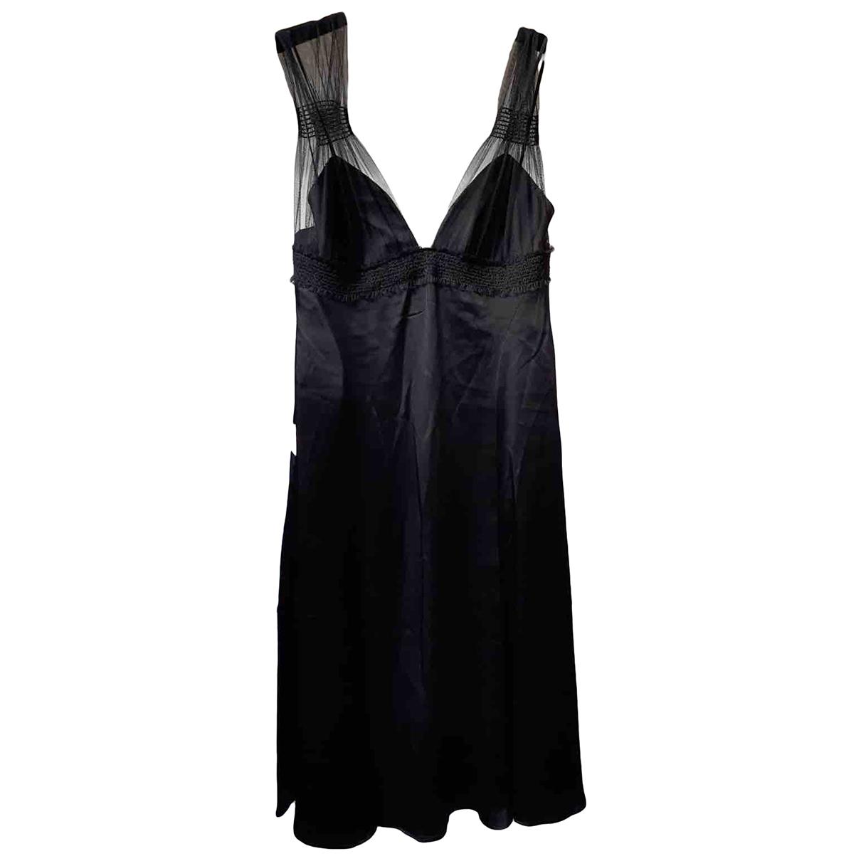 Max Mara \N Kleid in  Schwarz Polyester