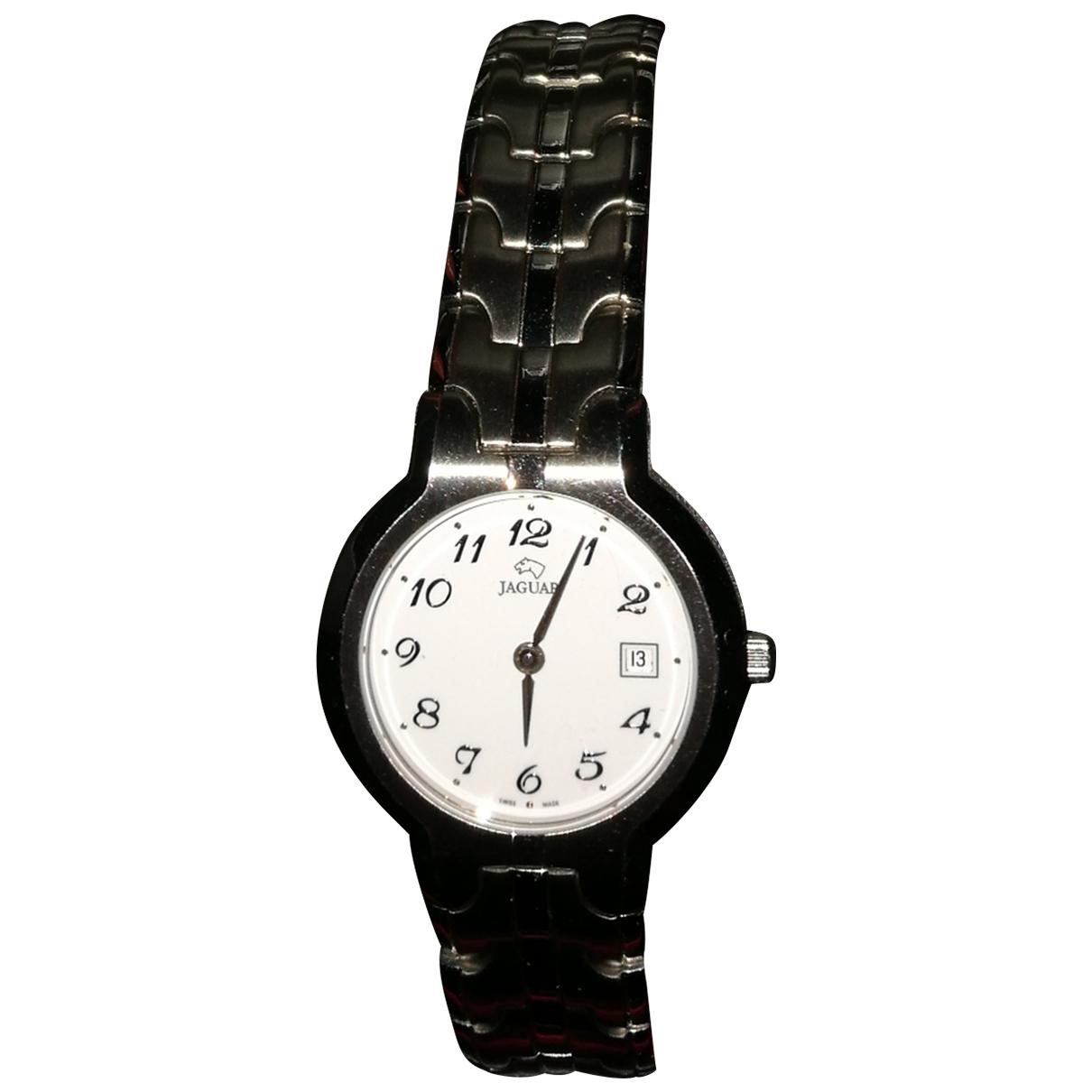 Jaggar \N Silver Steel watch for Women \N