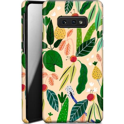 Samsung Galaxy S10e Smartphone Huelle - Tropical Greens von Iisa Monttinen