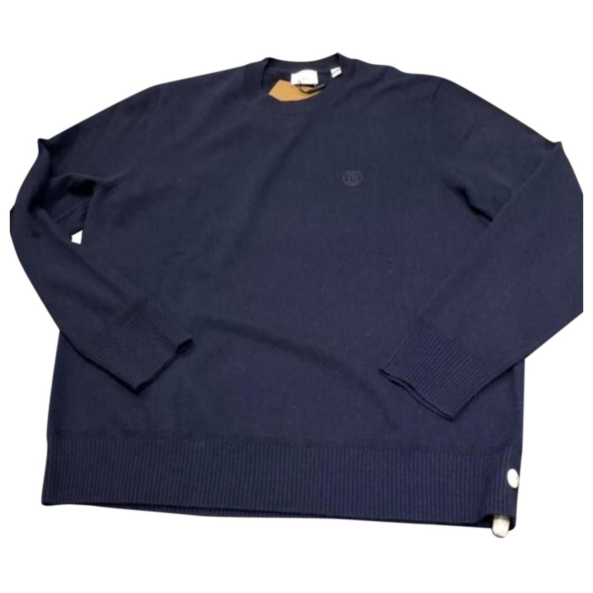 Burberry N Blue Cashmere Knitwear & Sweatshirts for Men L International