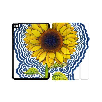Apple iPad mini 4 Tablet Smart Case - Sunflower Drawing von Kaitlyn Parker