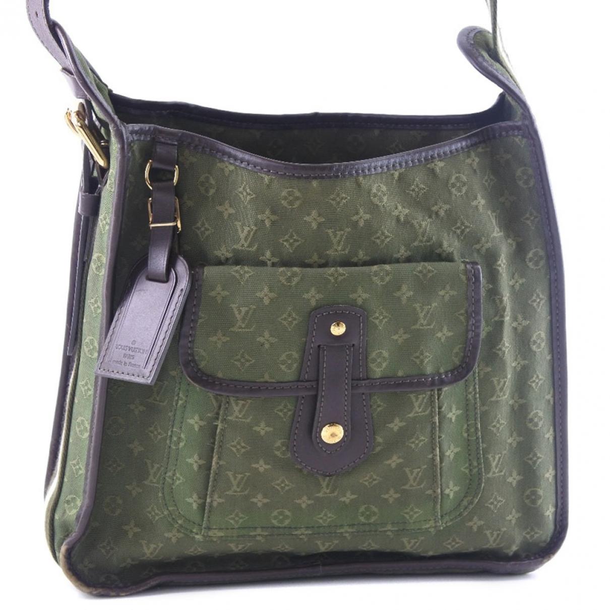 Louis Vuitton Mary Kate Handtasche in  Khaki Leinen