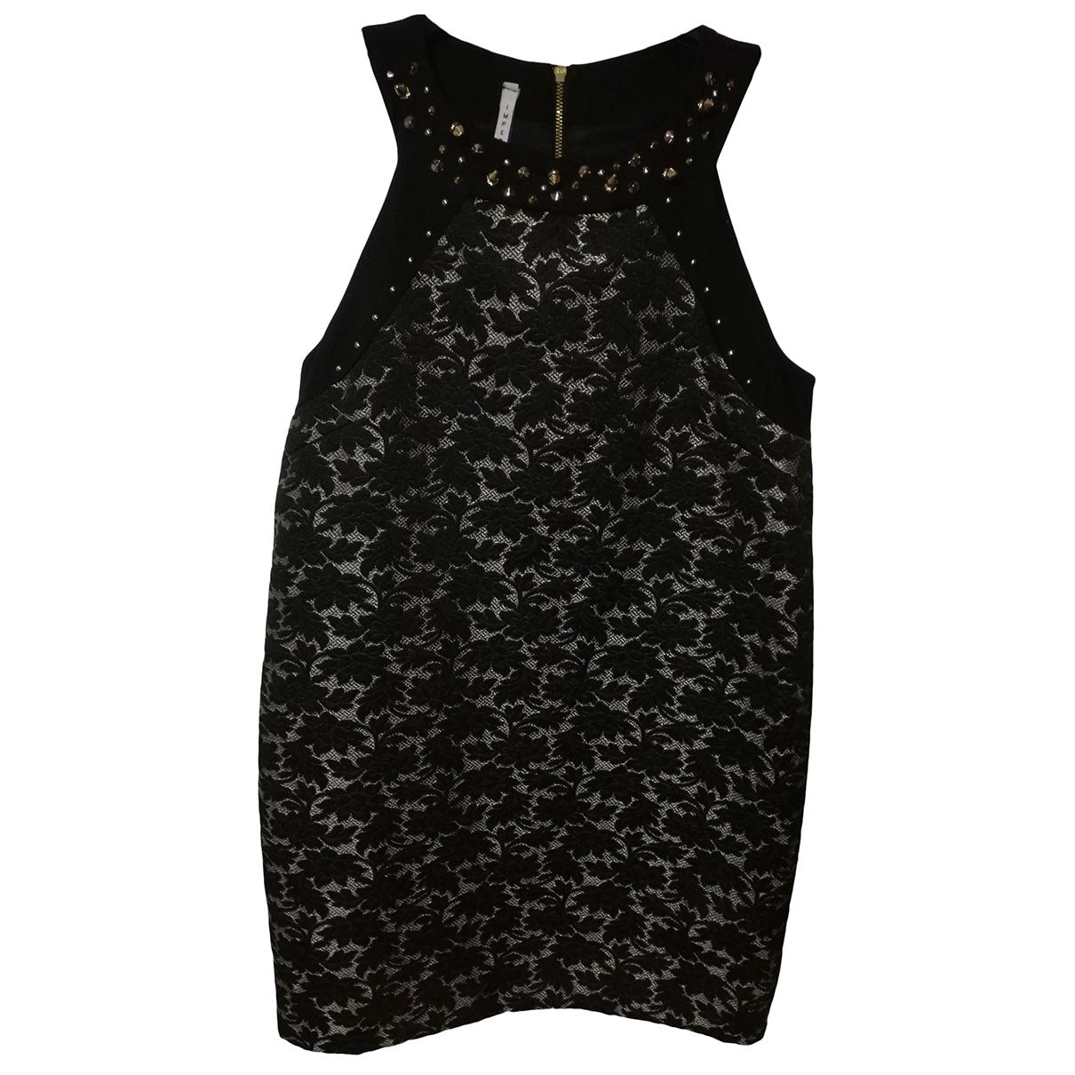 Imperial - Robe   pour femme en coton - noir