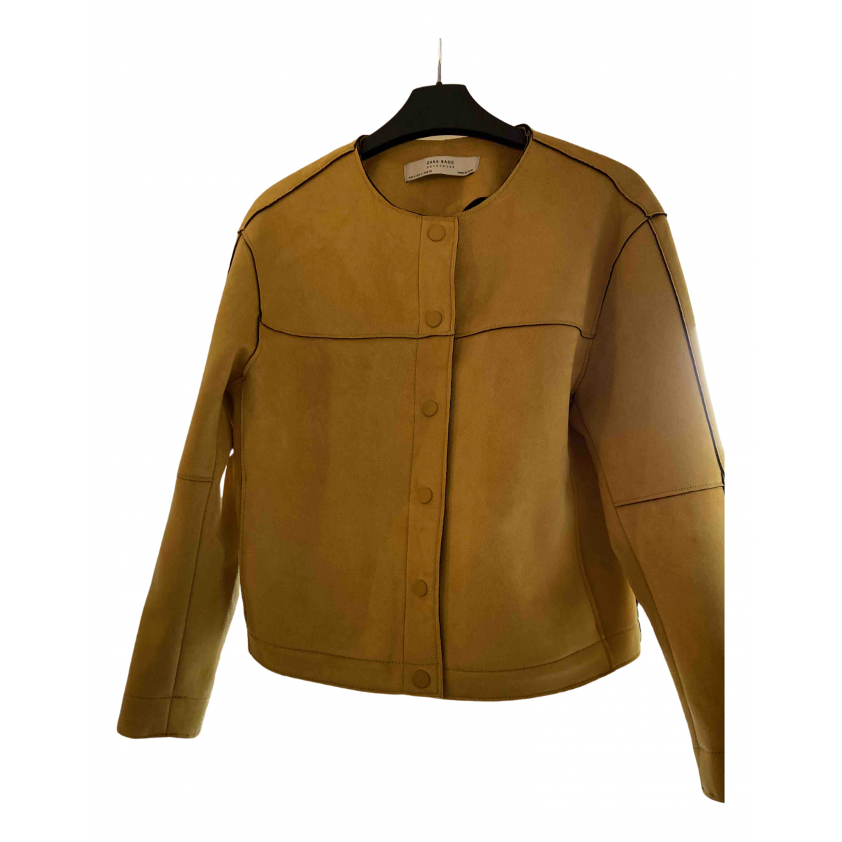 Zara - Veste   pour femme - jaune