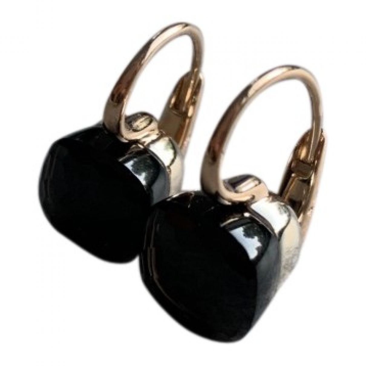 Pomellato Nudo Brown Pink gold Earrings for Women \N