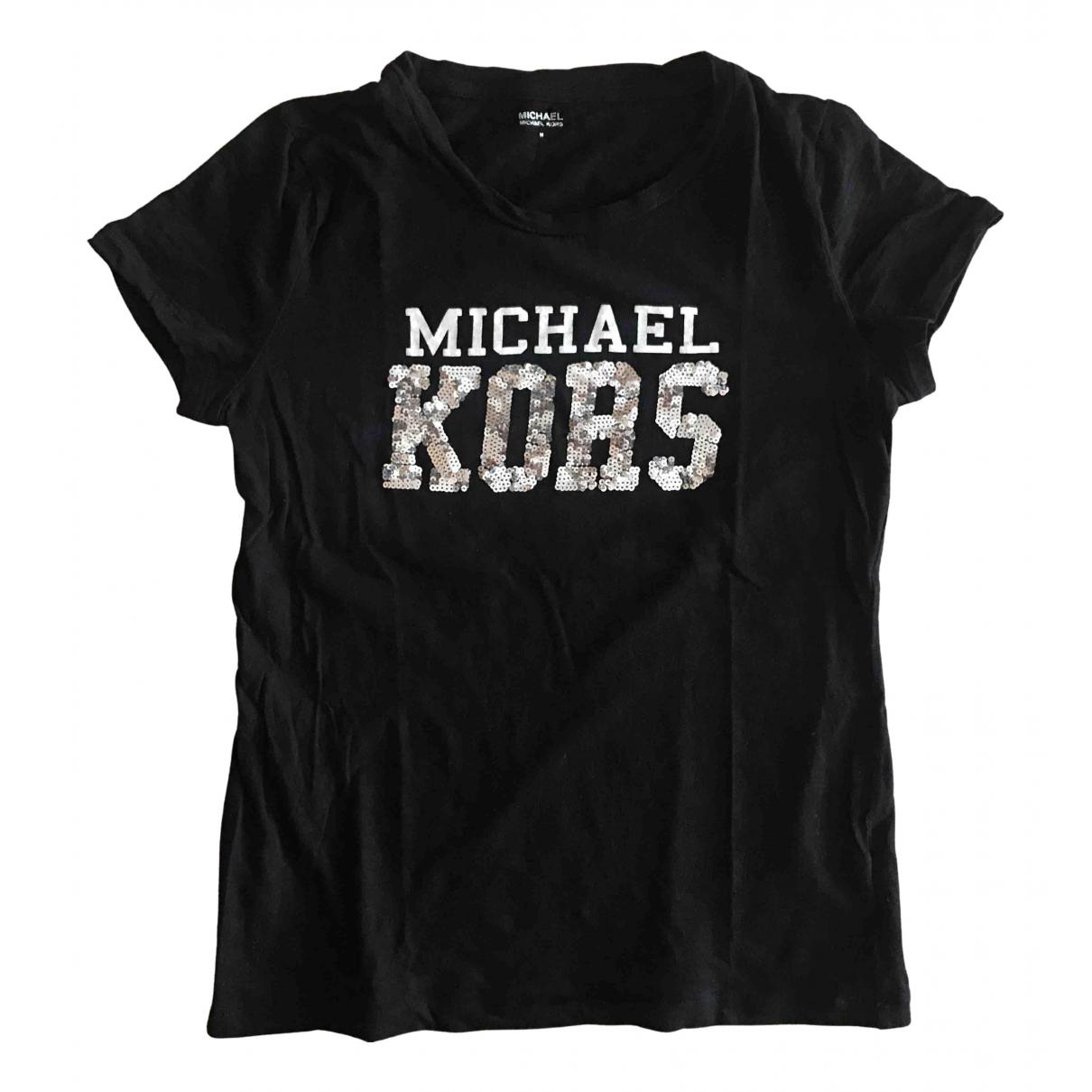 Michael Kors - Top   pour femme en coton - noir