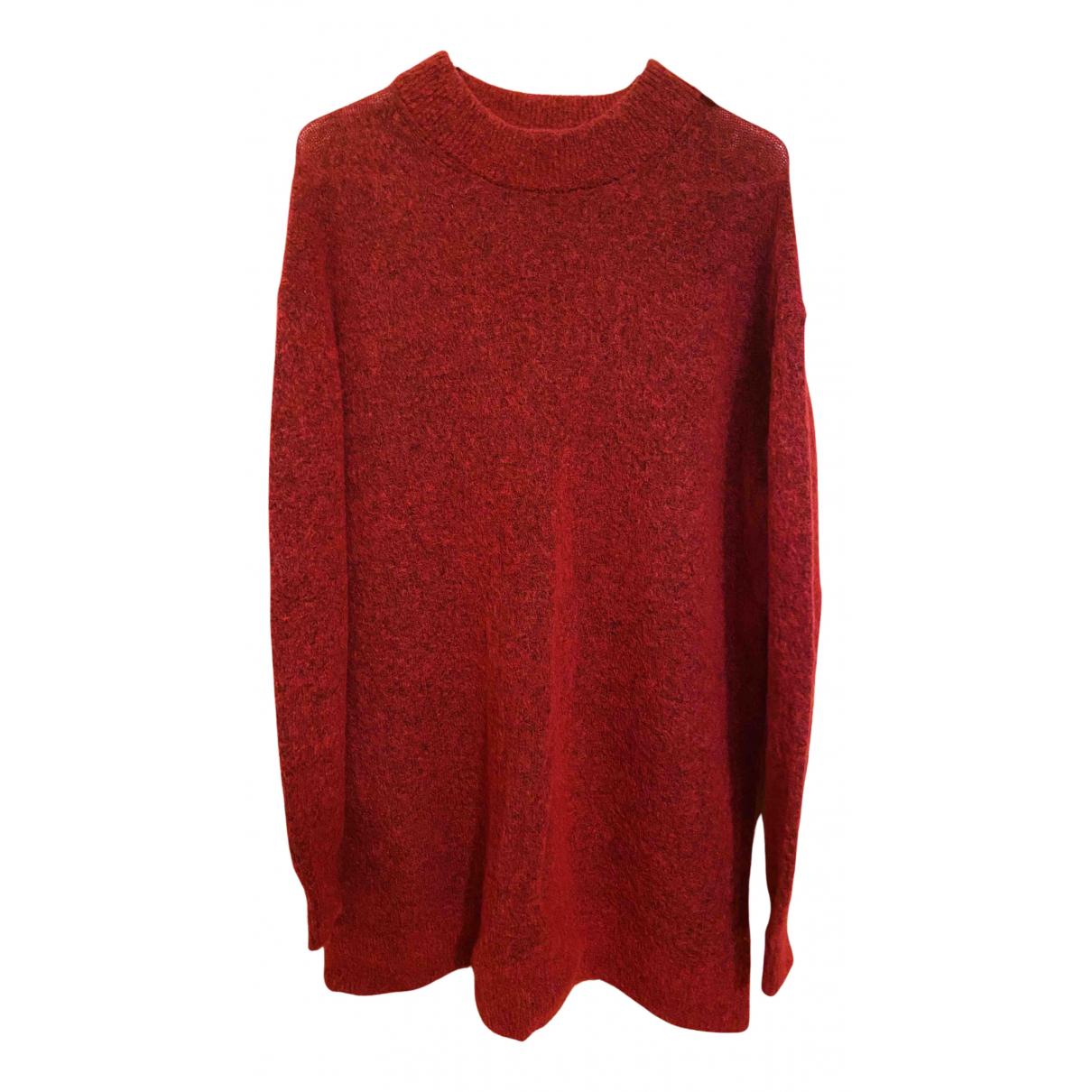 & Other Stories - Pull   pour femme en laine - rouge