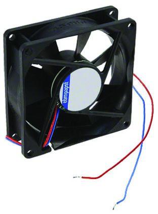 ebm-papst , 12 V dc, DC Axial Fan, 127 x 127 x 38mm, 200m³/h, 4.5W